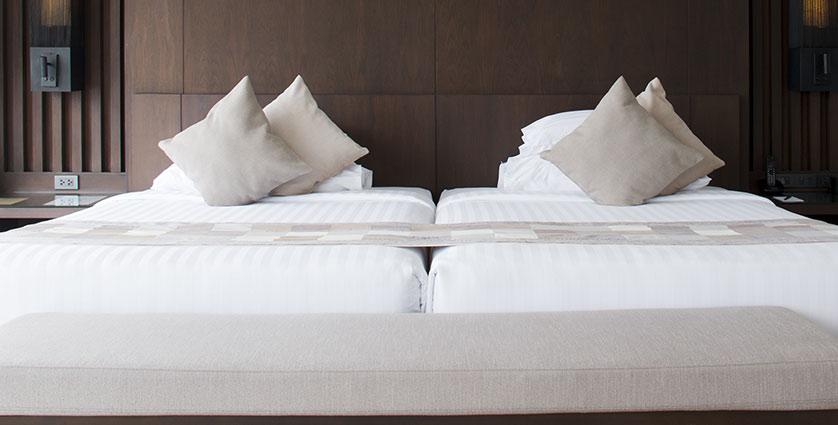 ベッドを並べてお使いになる場合