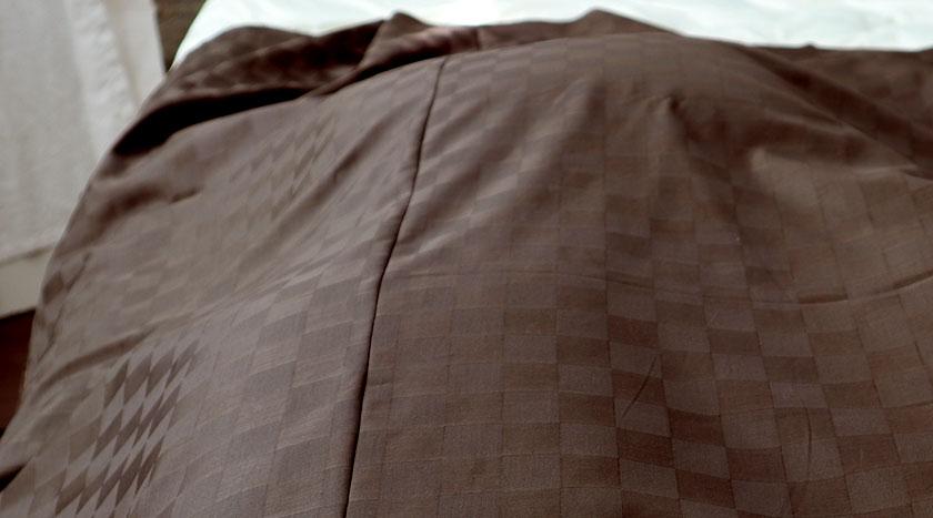 シーツの縫製について