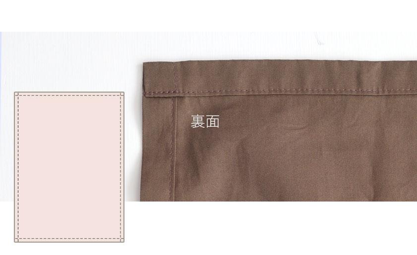 フラットシーツの縫製