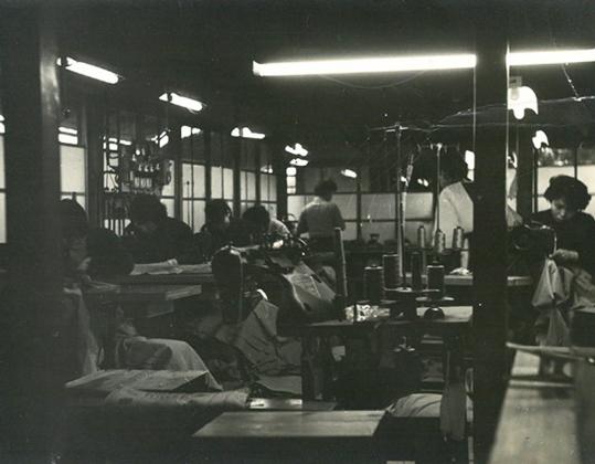 当時の工場風景